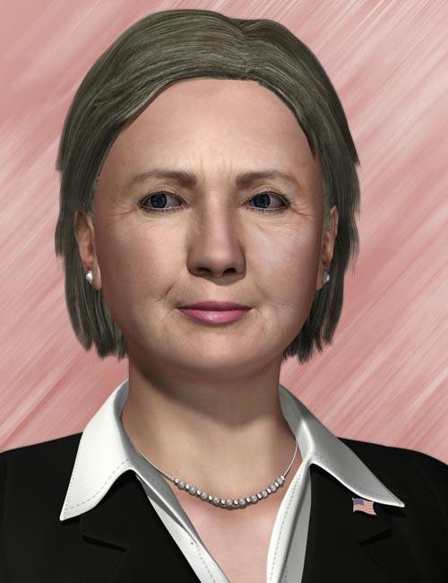 Hillary Clinton (Poser)