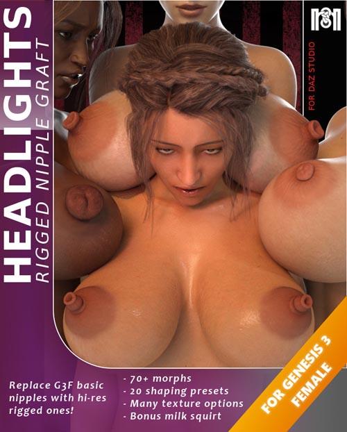 Headlights For Genesis 3 Female