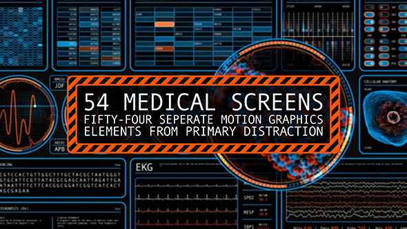 54 Medical Screens