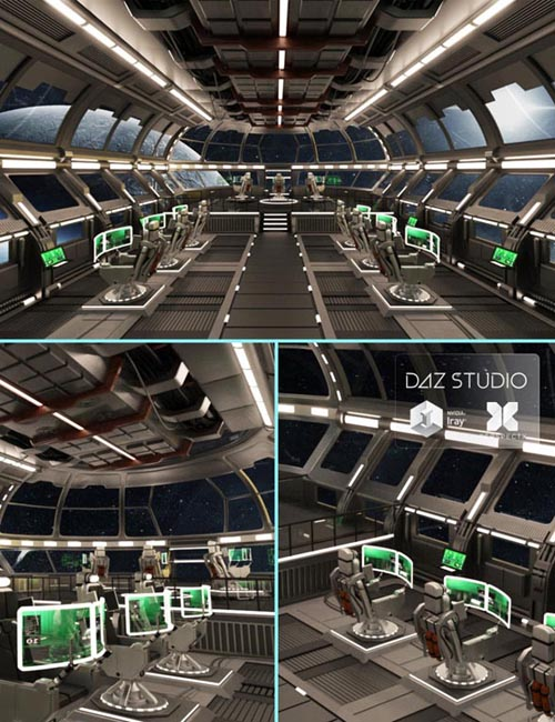 Starship Command Center
