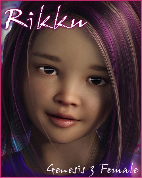 Rikku For Genesis 3 Female