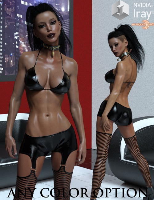 LUST - Attention Outfit for Genesis 3 Females