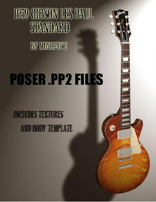 1959 Les Paul Poser [. Duf & iray update ]
