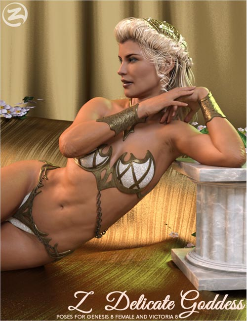 Z Delicate Goddess - Poses for Genesis 8 Female and Olympia 8