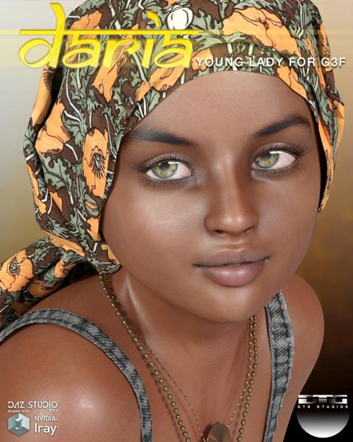 DTG Studios' Daria for G3F