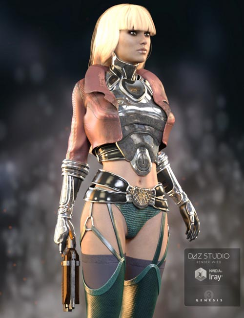 Emeka Outfit for Genesis 3 Female(s)