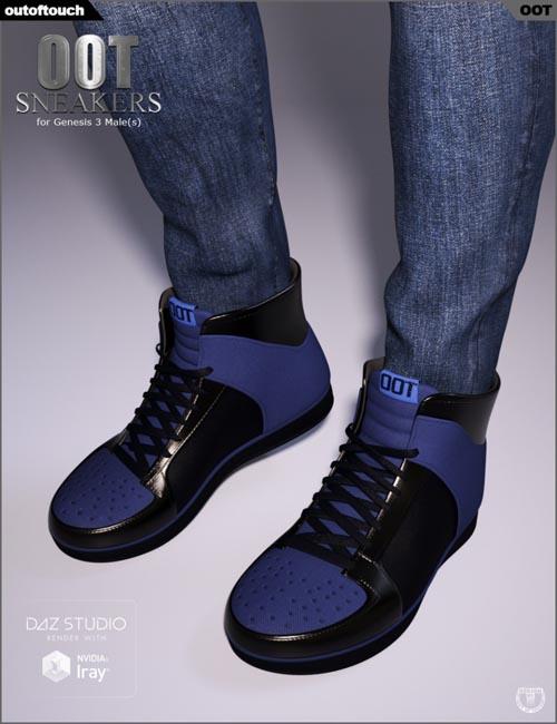OOT Sneakers for Genesis 3 Male(s)