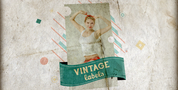 Vintage Labels 3 files