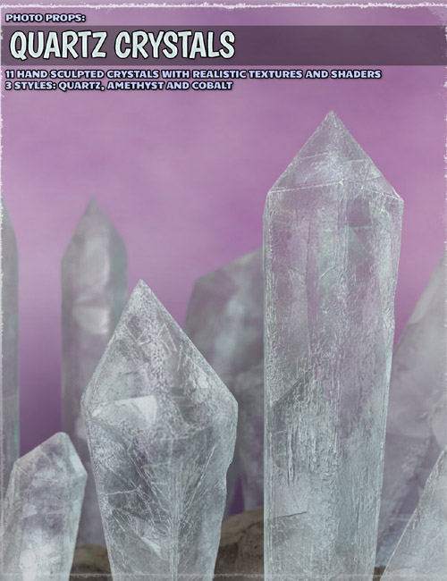 Photo Props: Quartz Crystals