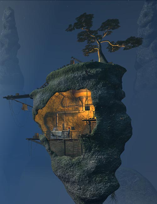 Mystery island smugglers