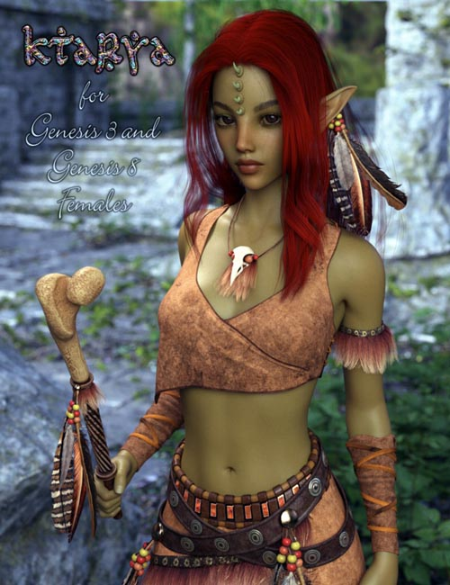 Ktarya Bundle for Genesis 3 and Genesis 8 Female(s)