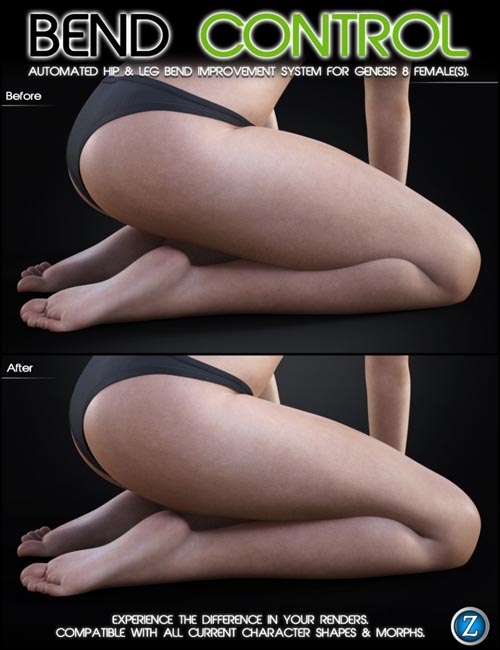Bend Control for Genesis 8 Female(s)