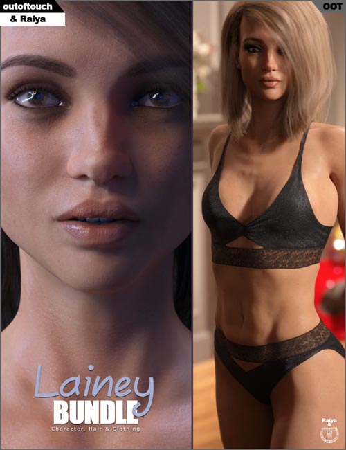 Lainey Bundle for Genesis 8 Female(s)