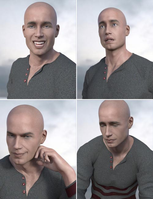 Expressive Faces - One Click Morph Expressions for Michael 8