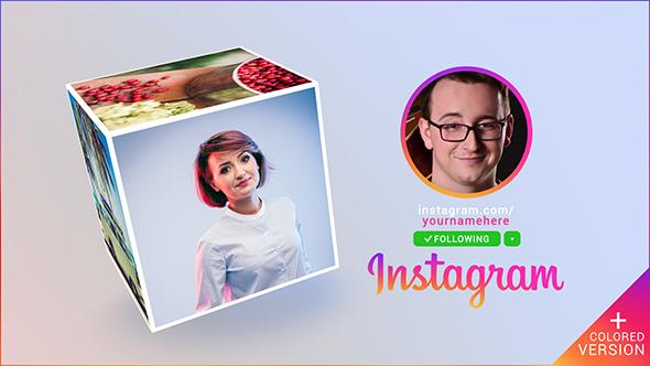 Instagram Promo Cube Gallery