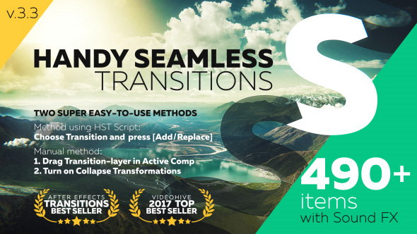 Handy Seamless Transitions | Pack & Script