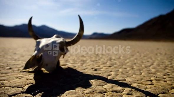 Death Valley Skull Timelapse 4