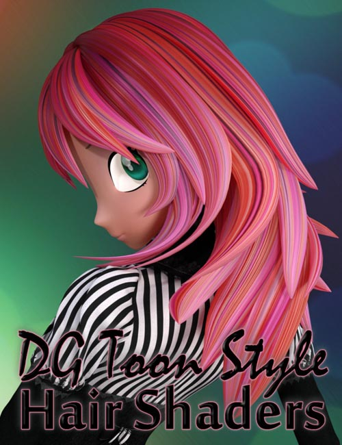 DG Toon Style Hair Shaders