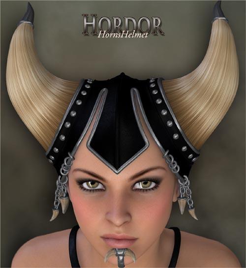 Hordor - HornsHelmet
