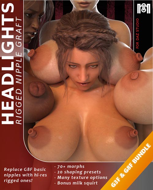 Headlights G3F & G8F Bundle