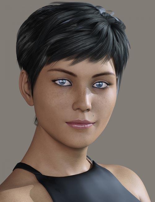 DE Deanna for Genesis 8 Female