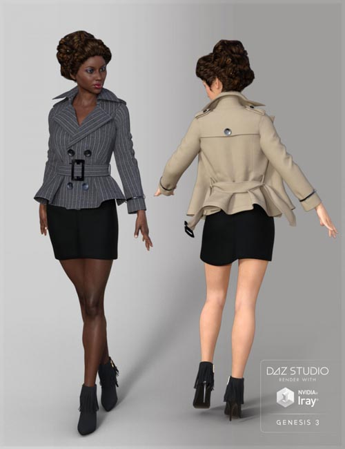Short Windbreaker for Genesis 3 Female(s)