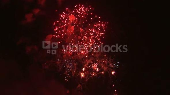 Fireworks Exploding in the Night Sky 14