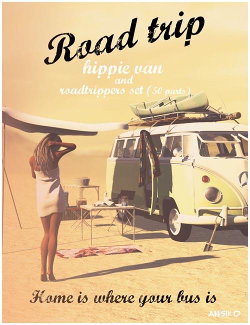 Road Trip Hippy Van