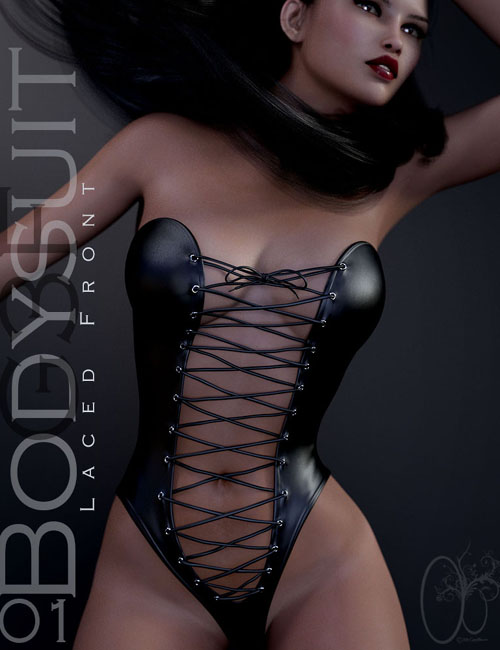 CB Laced Front Bodysuit 01