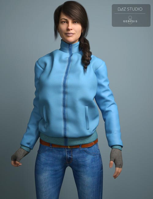 Cold Weather Outfit for Genesis 8 Female(s)