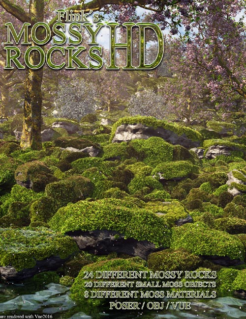 Flinks Mossy Rocks HD