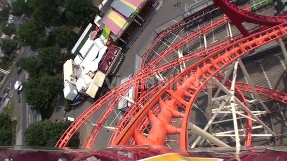 POV Roller Coaster Loops