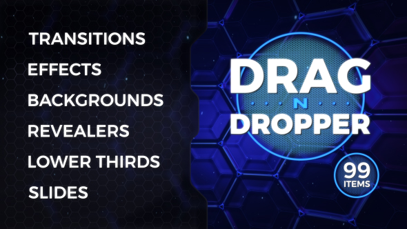 Drag-n-Dropper Motion Pack