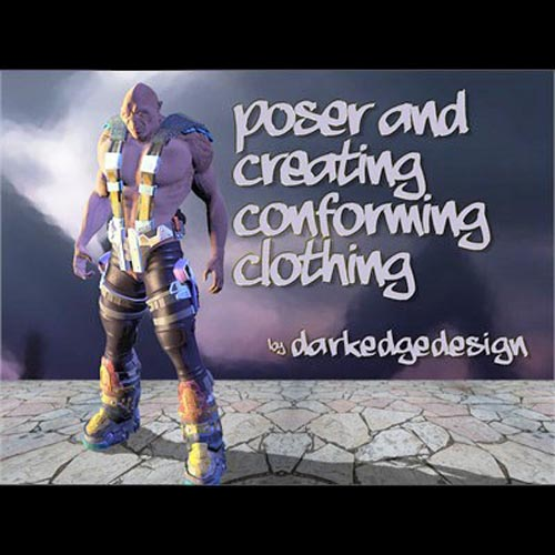 Poser and Creating Conforming Clothing