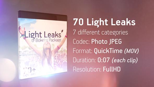 Light Leaks & Bokehs Package