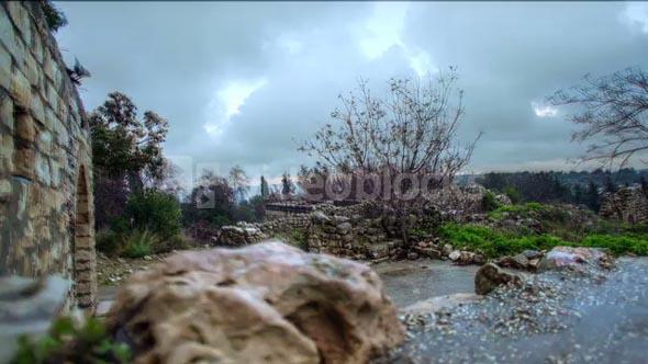 Stone Ruins, Rock Walls, and Greenery 6