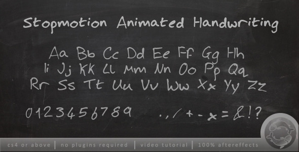 Stopmotion Handwriting