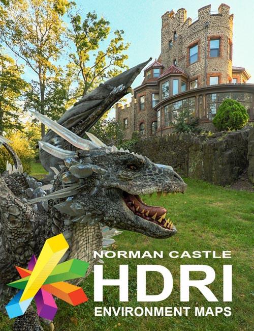 MEC4D HDRI Norman Castle - Megapack