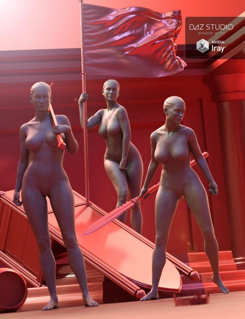 Insurrection Poses for Genesis 8 Female and Olympia 8