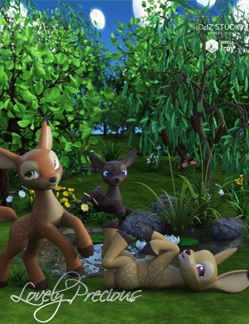 Lovely Precious Vol 01 - Deer