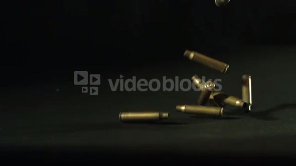 Spent Rifle Bullet