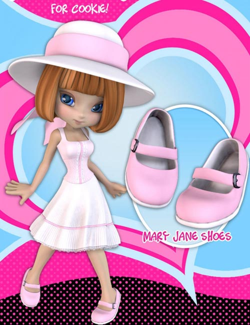 Cookie Mix and Match: Mary Jane Shoes