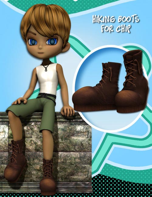 Chip Mix and Match: Hiking Boots