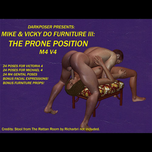 DarkPoser's Mike & Vicky Do Furniture III: The Prone Position M4V4