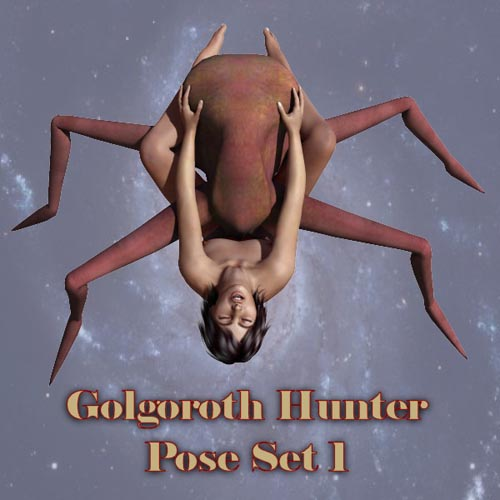 DeepSpace3D's Golgoroth Hunter Pose Set 1
