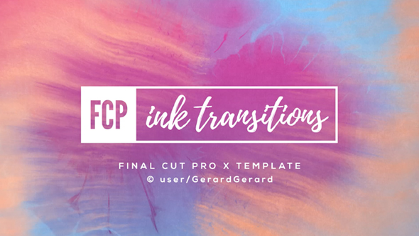 Ink Transitions - FCPX