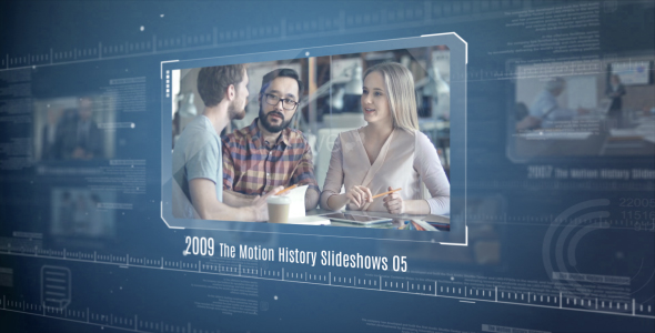 The Motion History Slideshows