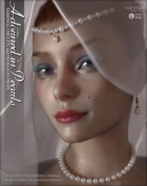 SV's Adorned in Pearls Genesis 3 Female (also works on Genesis 8)