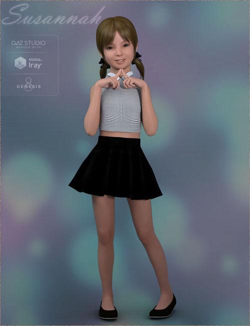TDT-Susannah for Genesis 8 Female