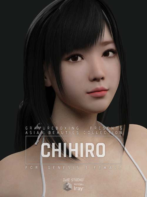 Chihiro G3F for Genesis 3 Female
